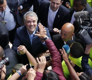 Conservative Iván Duque sweeps to victory in Colombia