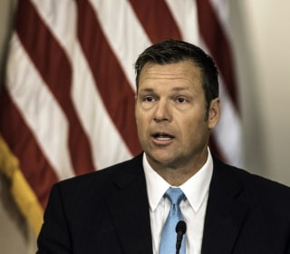 Kobach recuses himself from recount in his own race