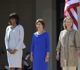 Three former first ladies condemn Trump border policy