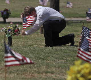 Veterans more likely than civilians to die by suicide, VA study finds