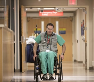 Paralyzed ER doctor returns to work — just don't call him inspirational