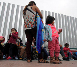 Trump's order could mean families will be together in detention purgatory indefinitely. But where will they stay?