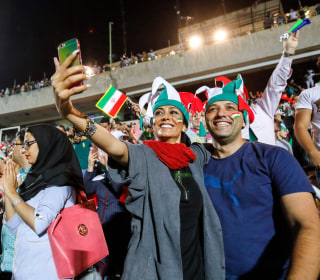 Iranian women attend first World Cup screening in nearly 40 years