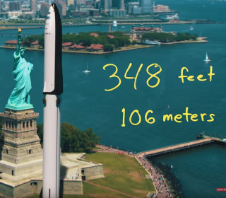 SpaceX rockets are HOW big? Check out the new video Elon Musk called 'cool'
