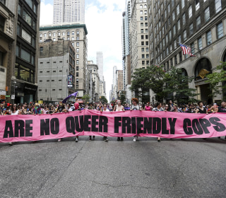 Police at Pride? Gay cops, LGBTQ activists struggle to see eye-to-eye