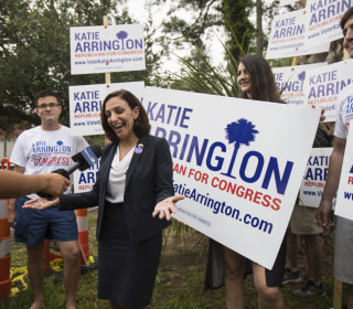 Katie Arrington, congressional hopeful who defeated Mark Sanford, seriously injured in car crash
