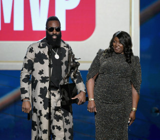 Houston Rockets' James Harden wins NBA MVP Award