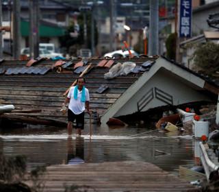 Deadly landslides and flooding in Japan after torrential rains