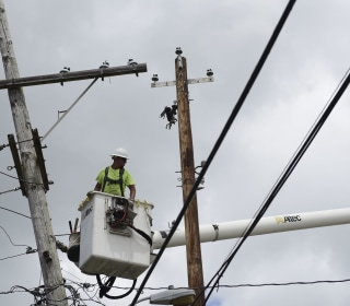 U.S. plans to remove backup power generators in Puerto Rico. Officials worry it's hurricane season.
