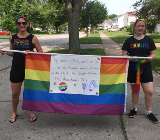 Illinois town will get its first gay pride parade — thanks to a 12-year-old