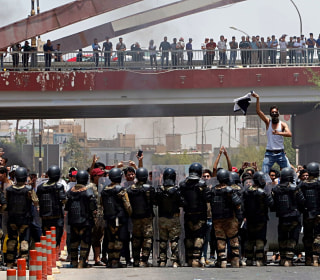 Iraq protests: Two killed, dozens hurt as unrest spreads in south