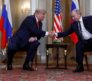 Trump and Putin meet one-on-one for more than two hours