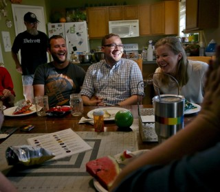 Mormon couple opens home, hearts to LGBTQ people