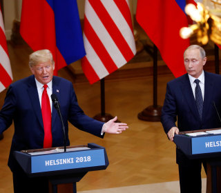 Trump attacks Mueller at joint news conference with Putin, advances conspiracy theories