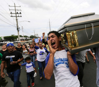 Amid violence in Nicaragua, compatriots in U.S. support protesters