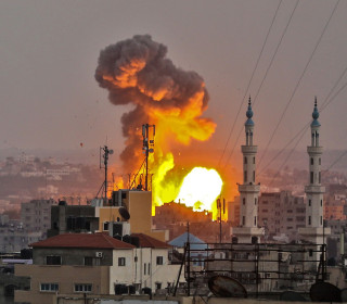 Israel strikes Gaza after its soldiers come under fire