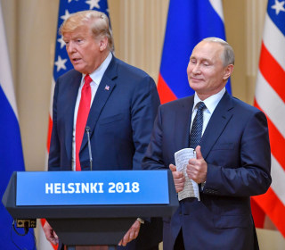 Trump's admiration for Putin has made him stunningly easy to manipulate. Now the show heads to the White House.