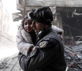 Israel evacuates stranded Syrian White Helmets in 'international effort' as regime forces close in