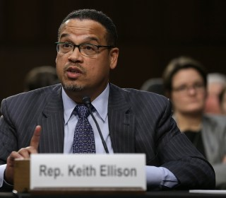 Ellison denies abuse allegations from ex-girlfriend
