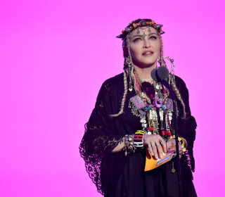 At VMAs, Madonna's tribute to Aretha Franklin triggers criticism