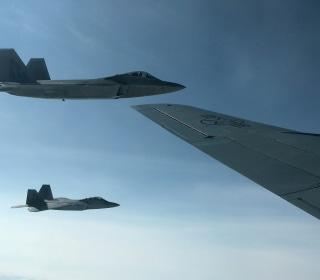 American jets intercept Russian aircraft flying west of Alaska
