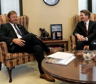 Sen. Dean Heller defends calling Kavanaugh controversy a 'hiccup'