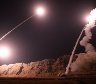 Iran Revolutionary Guard launches missiles into Syria over parade attack