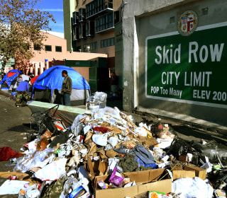 'Typhus zone': Rats and trash infest Los Angeles' skid row, fueling disease