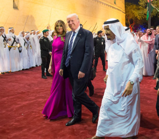 For Trump, defense of Saudi Arabia is another Helsinki moment