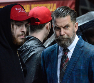 Far-right group takes victory lap on social media after violence in Manhattan