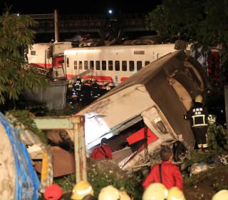 Train derailment kills 18 people and injures 160 in Taiwan