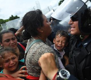 Migrant caravan's long journey to U.S. border