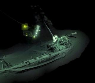 World's oldest intact shipwreck discovered far down in the Black Sea