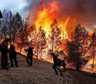 20,000-acre wildfire all but destroys Paradise, California