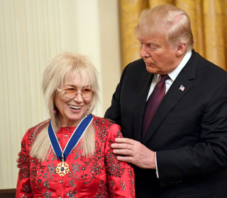 Trump awards Medals of Freedom to Elvis Presley, Justice Scalia, Miriam Adelson