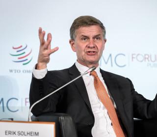 U.N. environment chief Erik Solheim resigns over $500K travel expense report