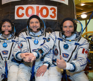 Weeks after scary mishap, Soyuz rocket to launch spaceflyers to space station