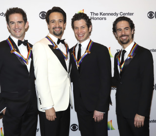 Lin Manuel Miranda, Hamilton creators awarded first-of-its-kind Kennedy Center honor