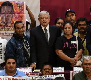 Mexican Pres. López Obrador creates truth commission on 43 missing college students