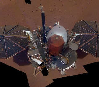 NASA's Mars InSight lander snaps its first selfie from the Red Planet