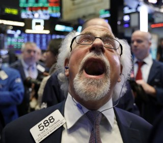 Stock market sell-off was due to a 'glitch,' says Trump