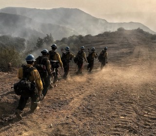 Beleaguered firefighters put on hold by government shutdown