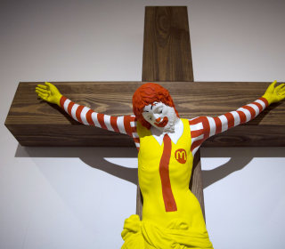 'McJesus' sculpture sparks outrage among Israel's Christians