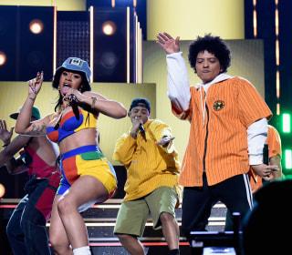 Grammy winners Cardi B and Bruno Mars reunite for new single 'Please Me'