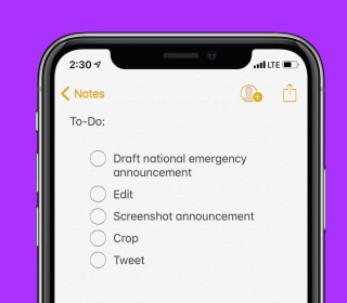 Why Sarah Sanders used the Notes app, just like many celebrities