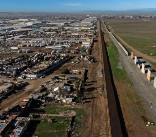 Trump's wall prototypes to come down along U.S.-Mexico border