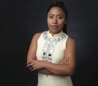 Oscar nominee Yalitza Aparicio is 'feeling good' about 'Roma' and the road ahead