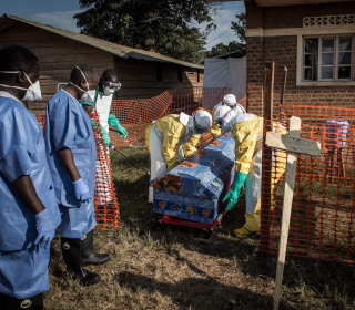 Battle against Ebola in Congo being lost amid militarized response, MSF says