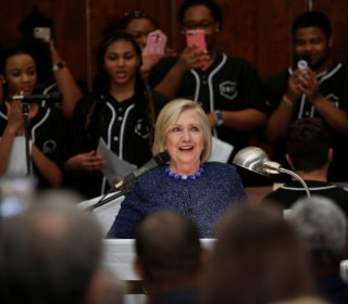 Hillary Clinton reiterates she won't run in 2020, but says she's 'not going anywhere'