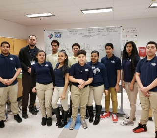 Latino immigrant students harness tragedy to create scientific innovation
